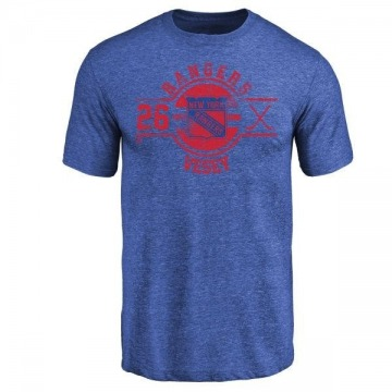 Youth Jimmy Vesey New York Rangers Insignia Tri-Blend T-Shirt - Royal